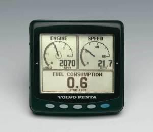 Volvo Penta EDC Display